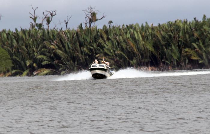 Rawan Sungai Bulungan Tak Rambu Post Sepanjang Alur Pelayaran Speedboat