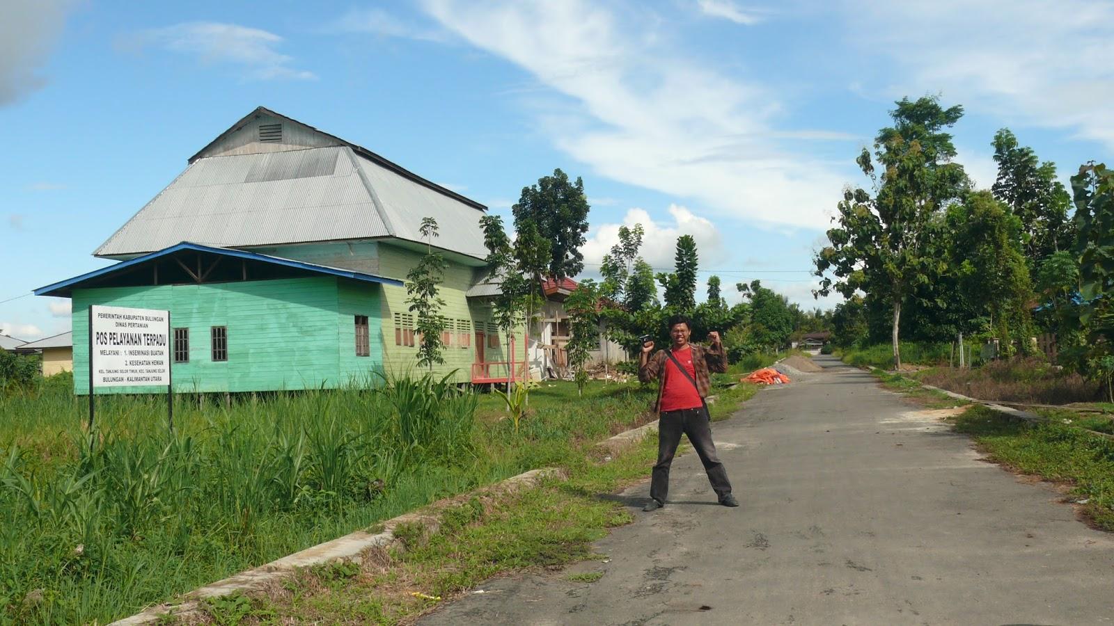 Selimau Kalimantan Utara Perkampungan Penduduk Berlokasi Kelurahan Tanjung Selor Timur