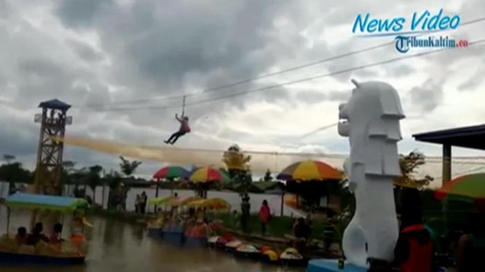 Video Selimau Park Jadi Favorit Warga Liburan Akhir Pekan Tribunnews