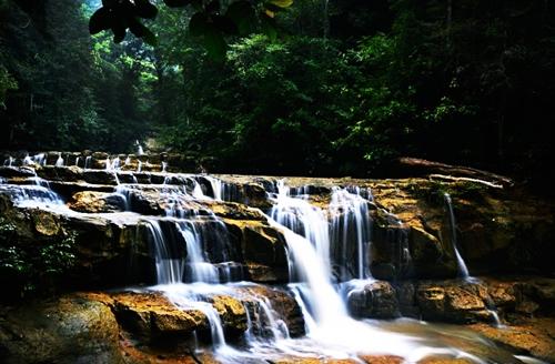 Wisata Kalimantan Utara Eloratour Air Terjun Idaman Bulungan Taman Selimau