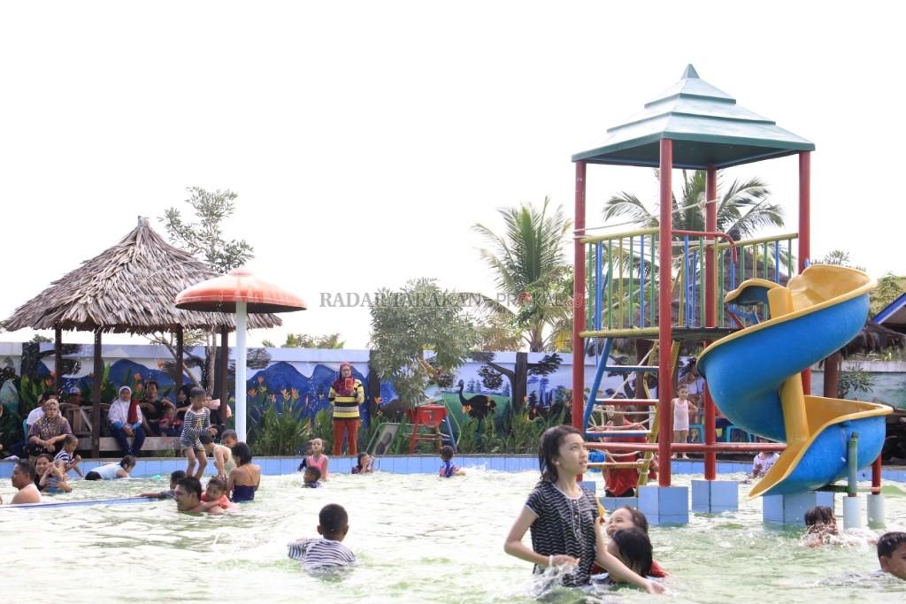 Wisata Selimau Park Dibanjiri Pengunjung Radar Tarakan Meningkat Salah Satu