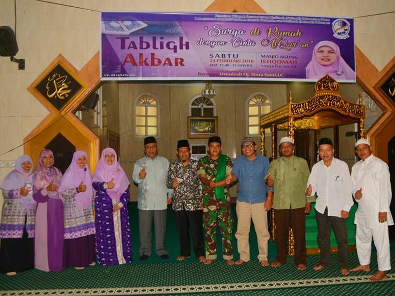 Pemkab Bulungan Tabligh Akbar Pimpinan Wilayah Pw Persaudaraan Muslimah Salimah