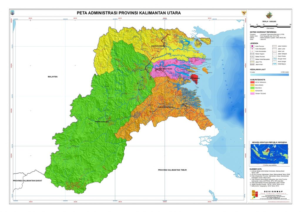 Potensi Bisnis Menjanjikan Provinsi Kalimantan Utara Nusantara Kaya Tugu Cinta