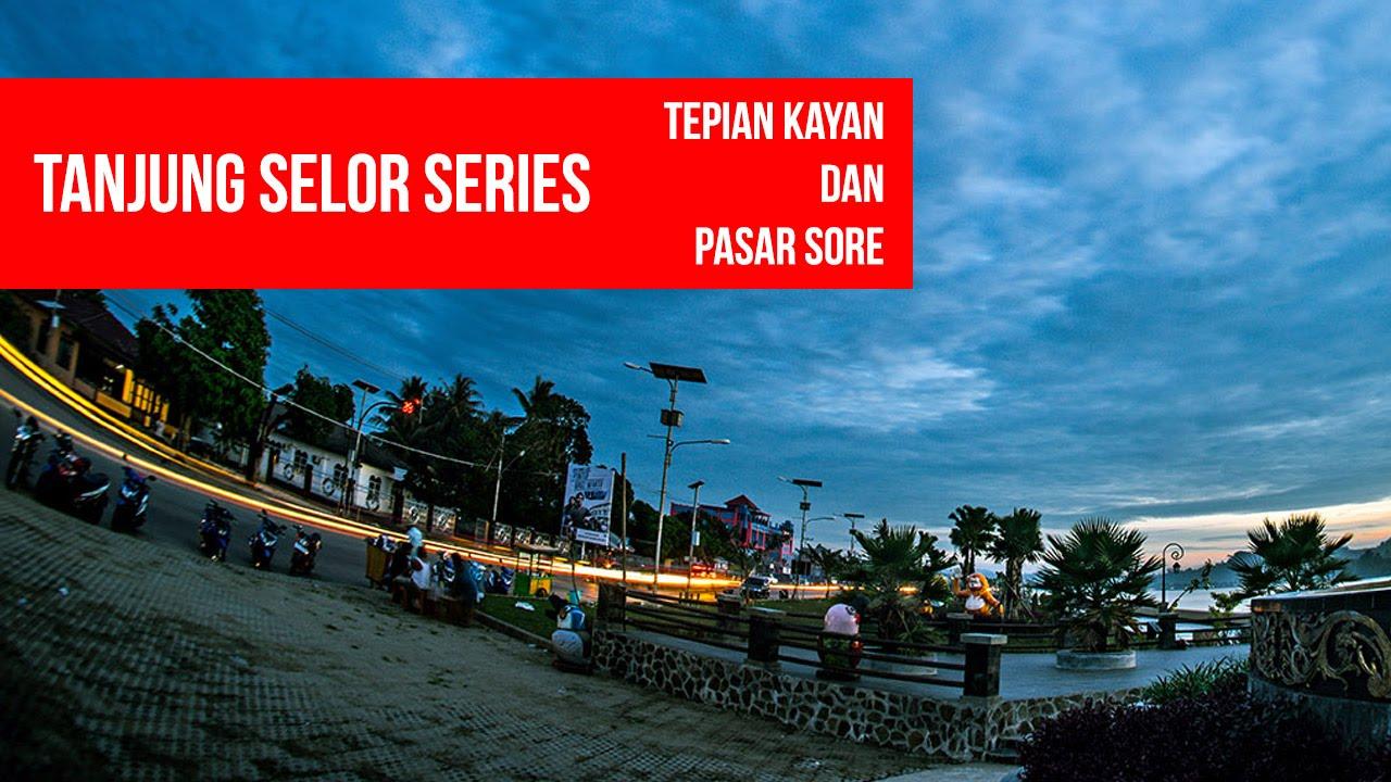 Tanjung Selor Tepian Sungai Kayan Pasar Sore Youtube Tugu Cinta
