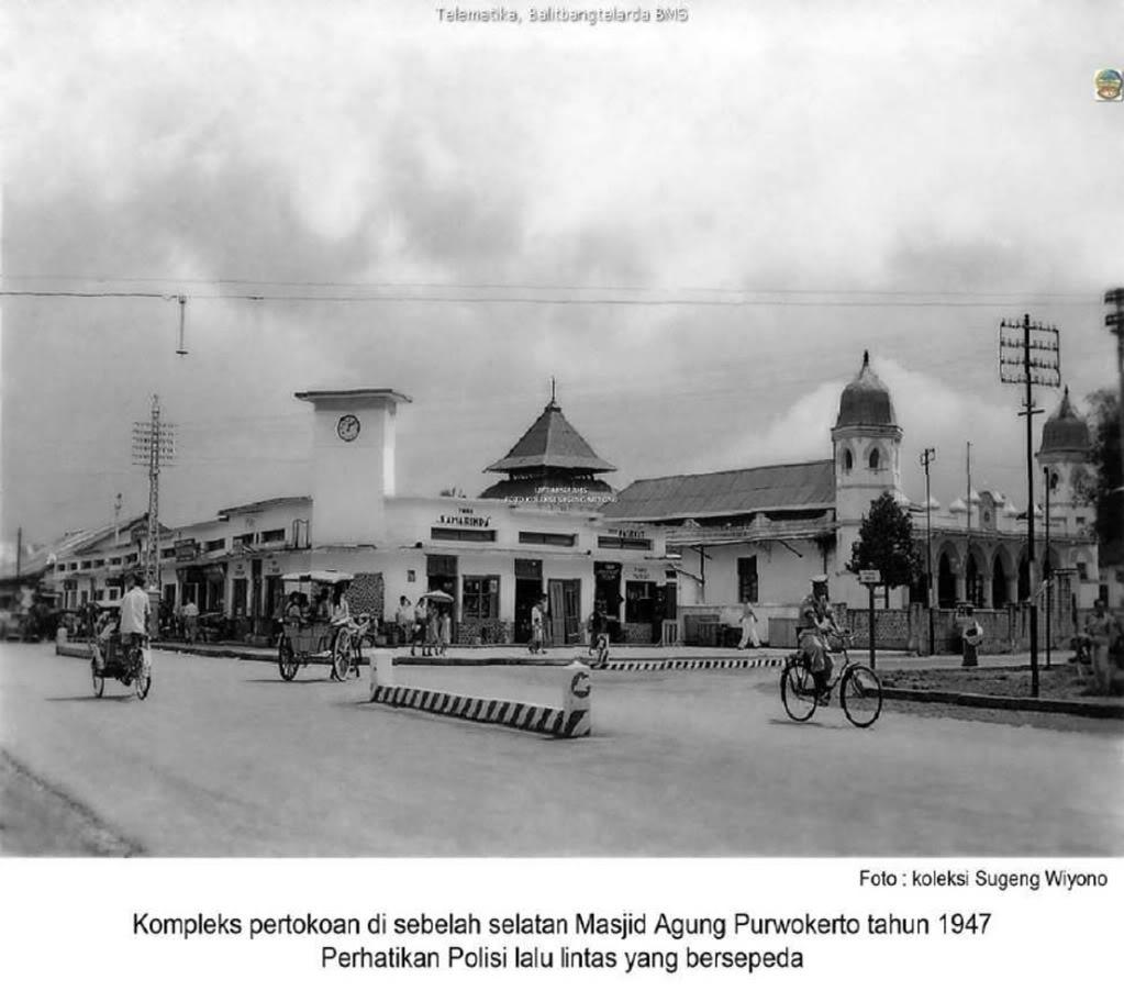 Cilacap Tempo Dulu Cactacea Cikal Bakal Masjid Agung Alun Purwokerto