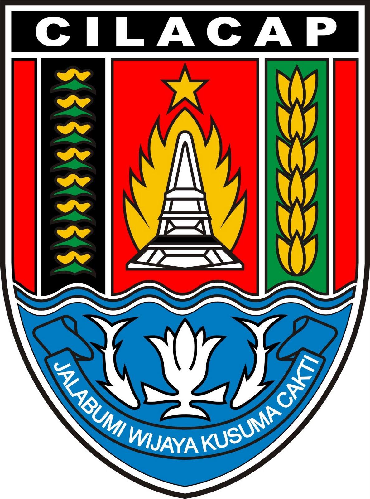 Fail Lambang Kabupaten Cilacap Jpg Wikipedia Bahasa Melayu Alun Kab