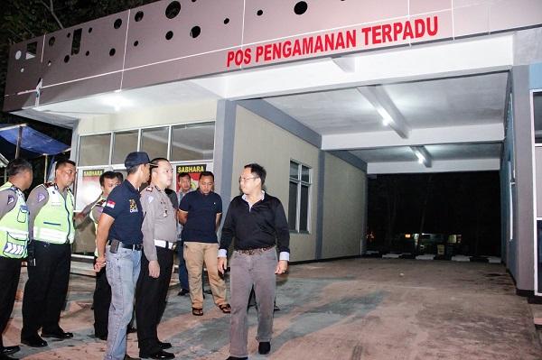 Kapolres Cilacap Berkoordinasi Pemda Terkait Pembangunan Pos Sampurna Jaya Sik