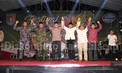 Meriahkan Malam Takbir Pemkab Cilacap Selenggarakan Festival Bedug Suasana Idul