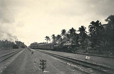 Cilacap Tempo Dulu Cactacea Stasiun Kroya 1930 Alun Kab