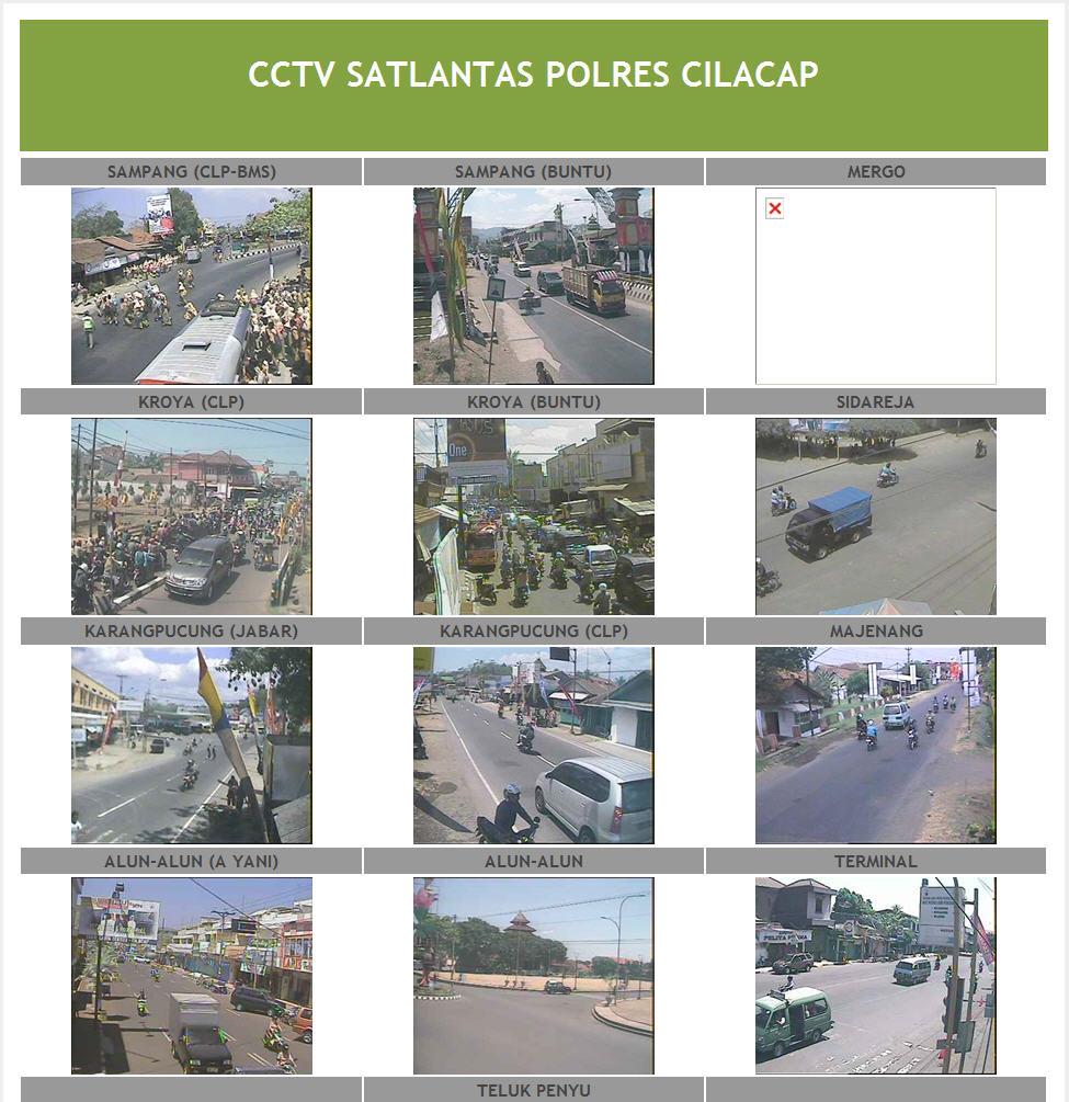 Cilacapkab Id Website Resmi Pemerintah Kabupaten Cilacap Humas Polres Memasang