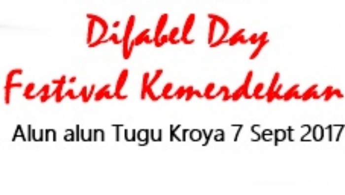 Difabel Day Festival Kemerdekaan Kroya Warnai Suasana Haru Panitia Cilacap