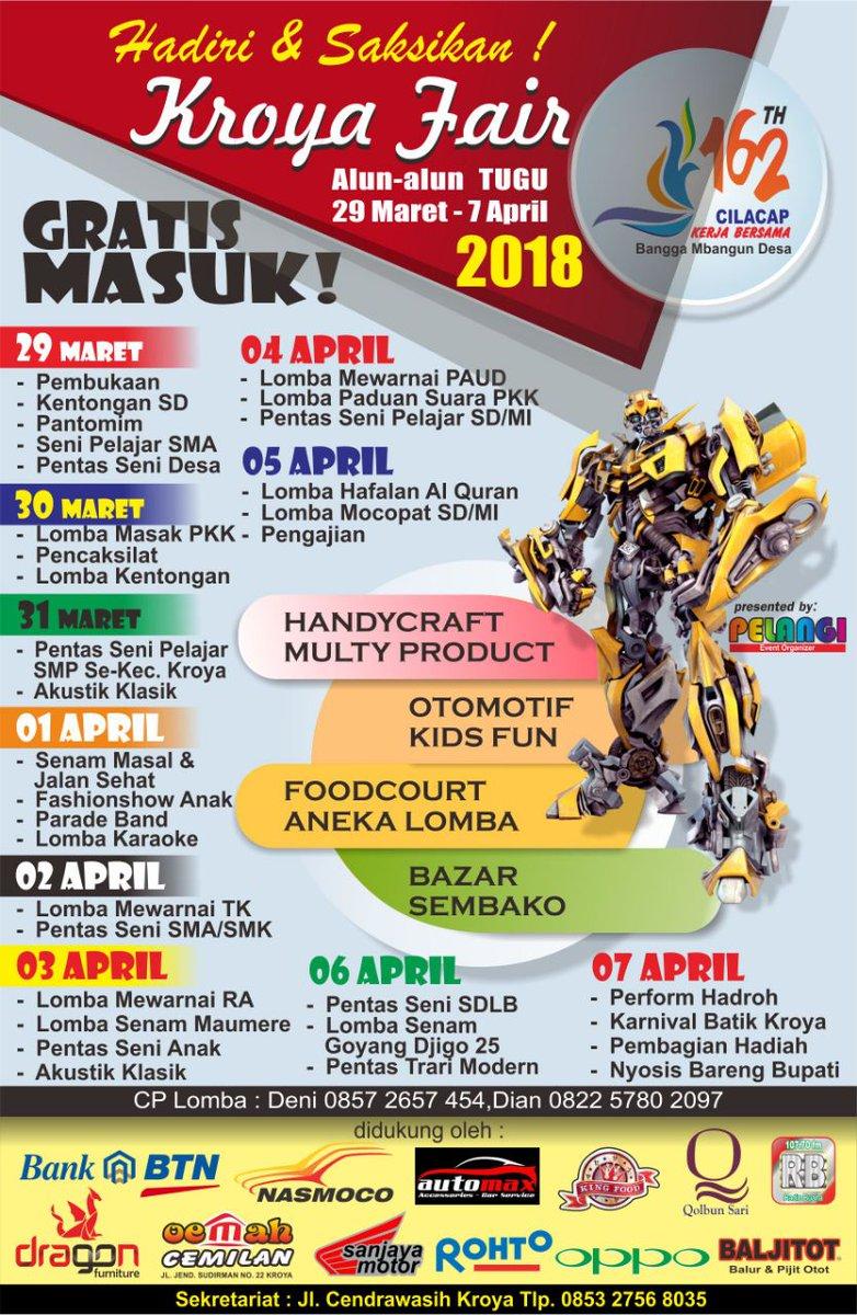 Kecamatan Kroya Kecamatankroya Twitter Hadiri Saksikan Fair Tgl 29 Maret