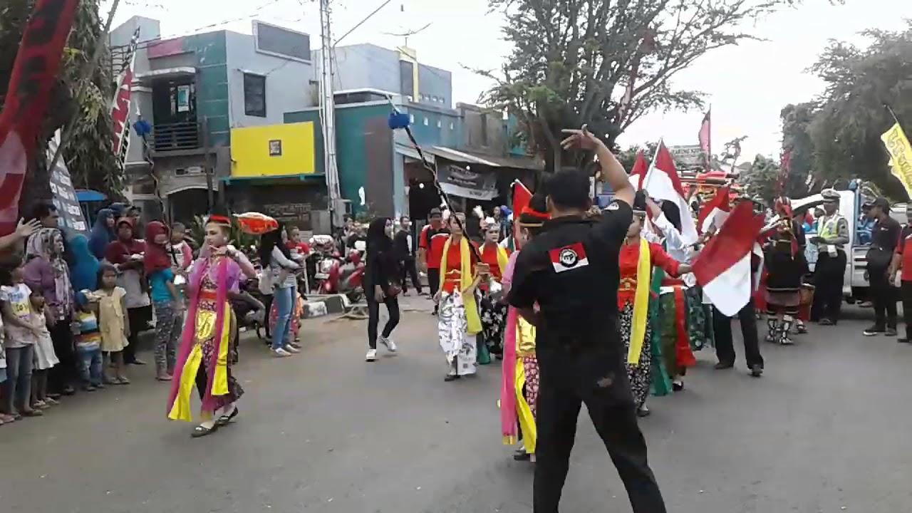 Kentongan Rangka Pembukaan Festival Kemerdekaan Alun Kroya Kabupaten Cilacap Kab