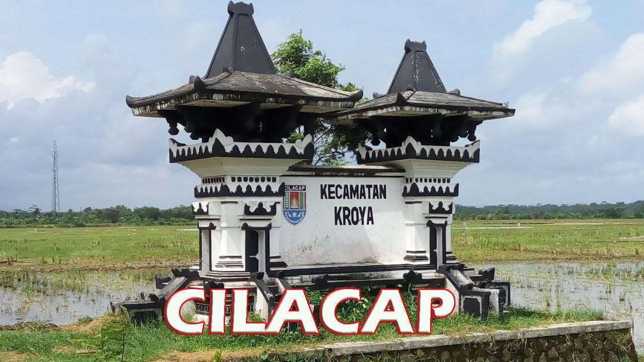 Kroya Cilacap Penampakan Alun Stasiun Pasar Kab