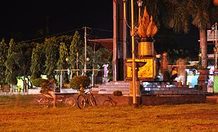 Kroya Cilacap Wikipedia Bahasa Indonesia Ensiklopedia Bebas Alun Tugu Sebagai