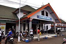 Kroya Cilacap Wikipedia Bahasa Indonesia Ensiklopedia Bebas Train Station 120401