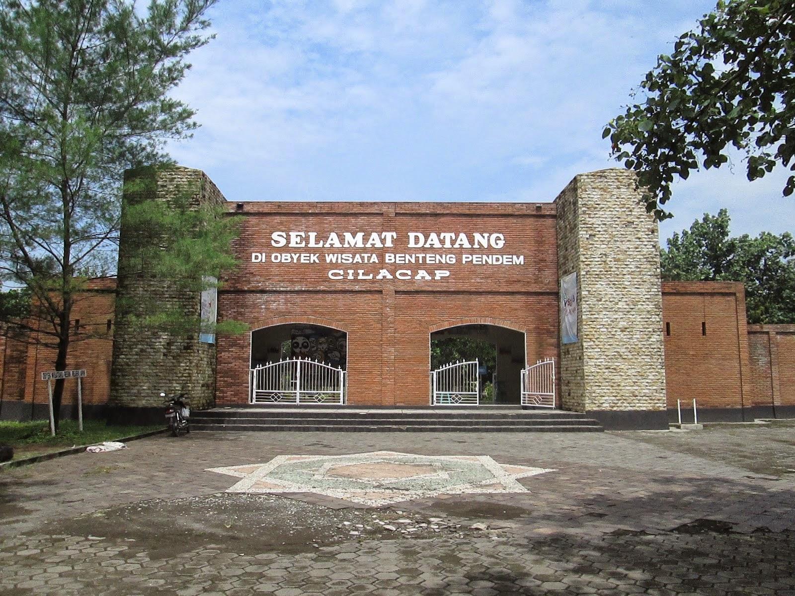 Benteng Pendem Cilacap Jawa Tengah Kab