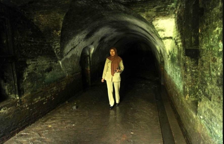 Empat Misteri Cilacap Terpecahkan Serayunews Salah Satu Terowongan Benteng Pendem