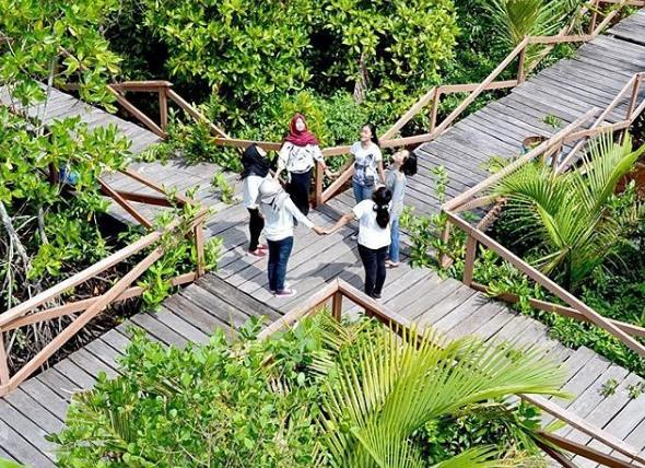 Explore 31 Tempat Wisata Terbaik Cilacap Jawa Tengah Hutan Mangrove
