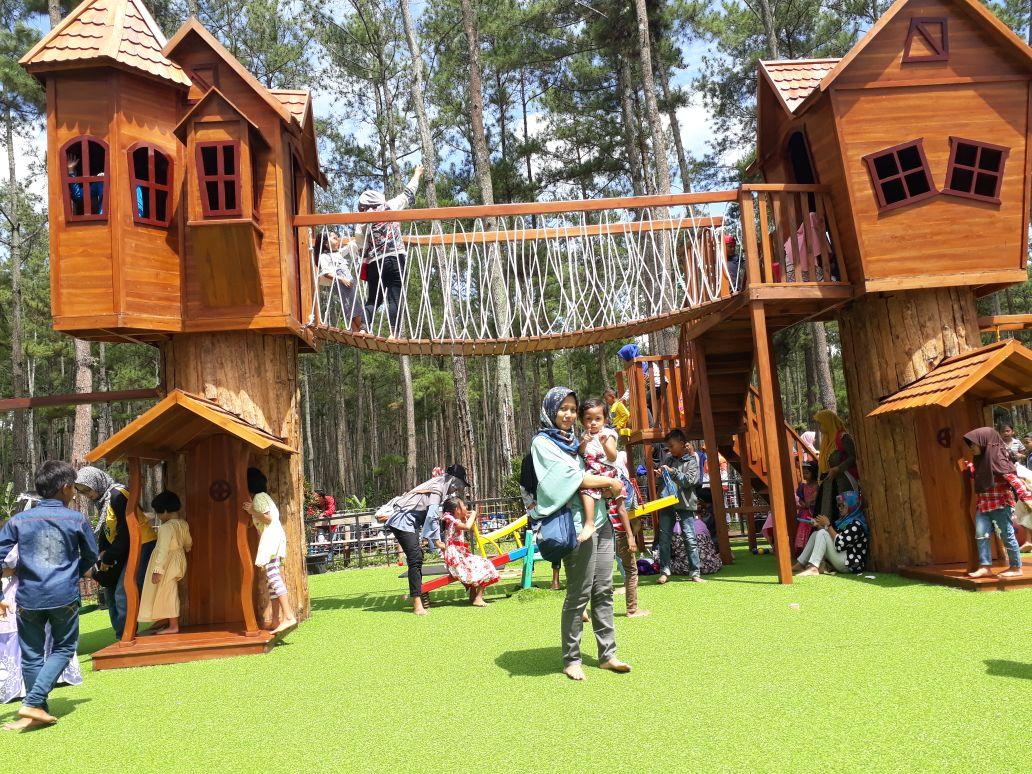 Kemit Forest Education Wisata Hits Sidareja Imagi Id Berlokasi Desa