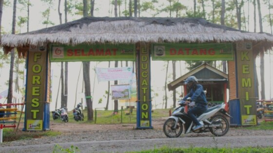 Kemit Forest Rute Menuju Lokasinya Radio Kusuma Fm 99 4