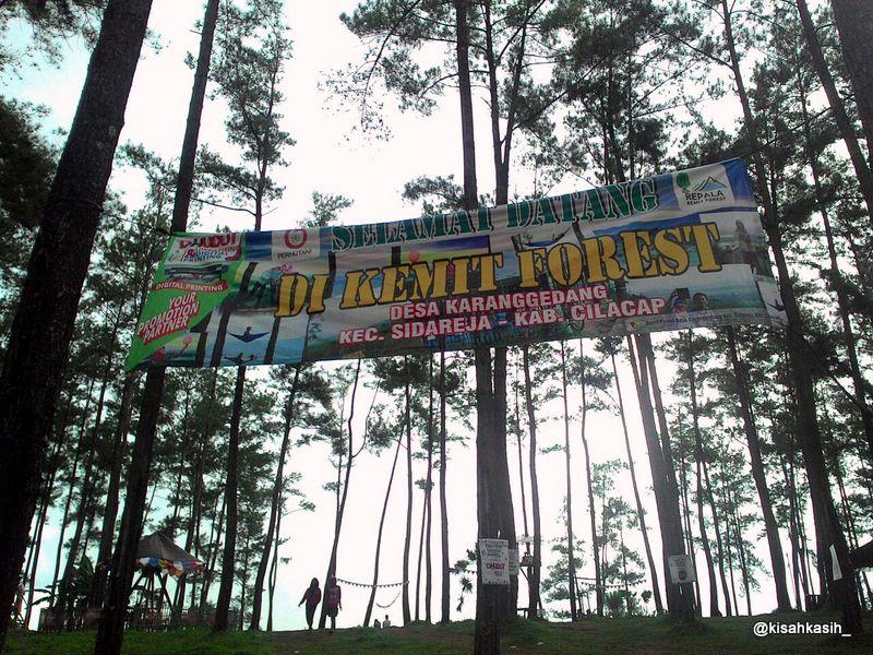 Kisahkasih Kemit Forest Wisata Edukasi Sidareja Cilacap Hutan Kermit Karanggedang