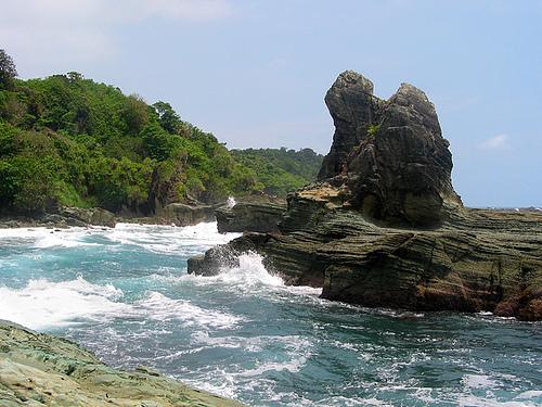 218 Obyek Wisata Pantai Ranca Babakan Kab Cilacap Alam Segara