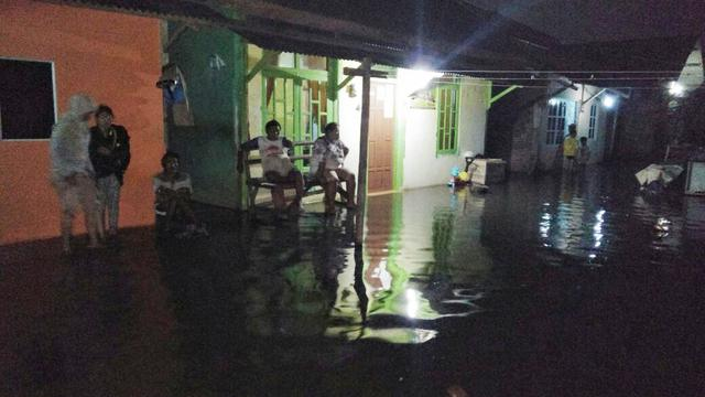 Banjir Rob Landa 2 Kecamatan Cilacap Regional Liputan6 Puluhan Rumah