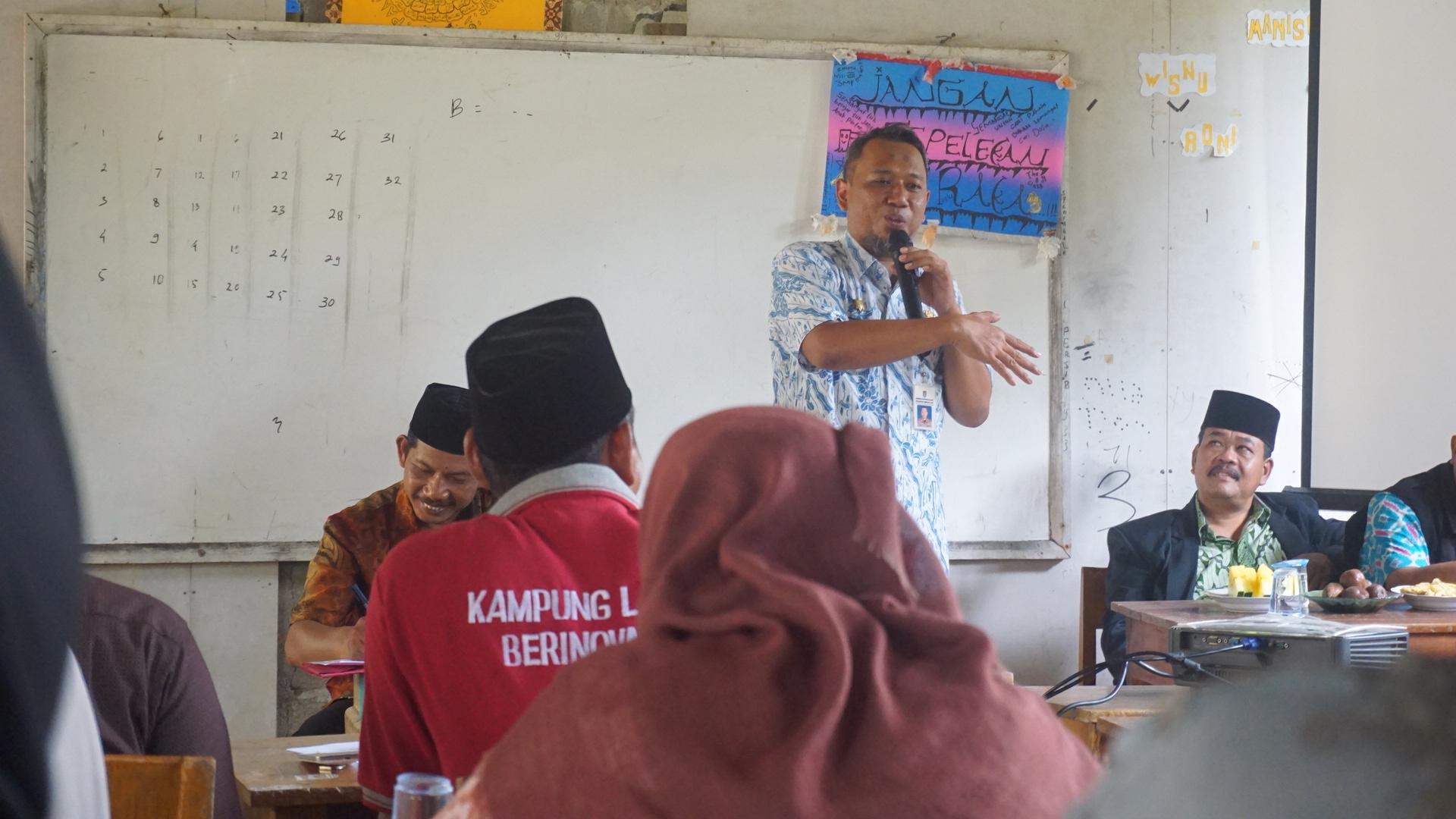 Kampung Laut Tempat Refleksi Ksp Region Jawa Bina Desa Camat