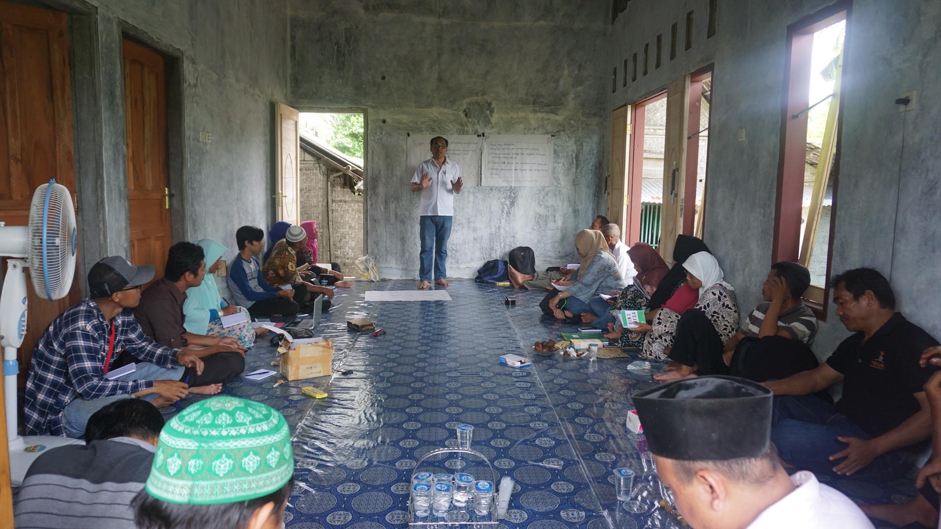 Kampung Laut Tempat Refleksi Ksp Region Jawa Bina Desa Kab