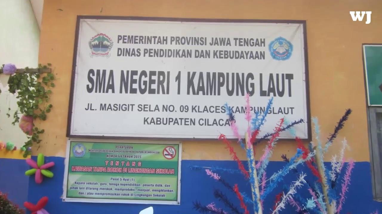 Kirab Pelepasan Kls 12 Sma 1 Kampung Laut Kab Cilacap
