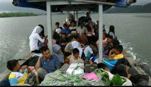 Mengenal Desa Ujung Alang Perairan Kampung Laut Cilacap Kab