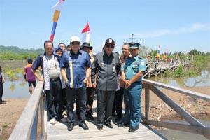 Peresmian Tracking Mangrove Oleh Dirjen Kp3k Dr Sudirman Saad Direktur