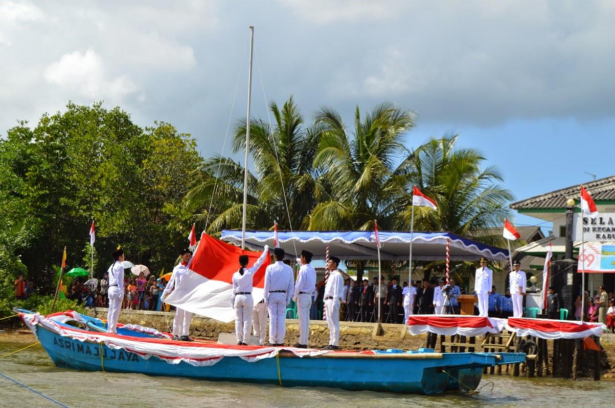 Upacara Bendera Terunik Hut Ri 69 Portal Santri Indigo Cilacap