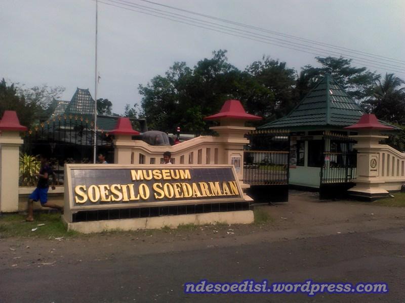 Mengunjungi Museum Soesilo Soedarman Ndesoedisi Susilo Kab Cilacap
