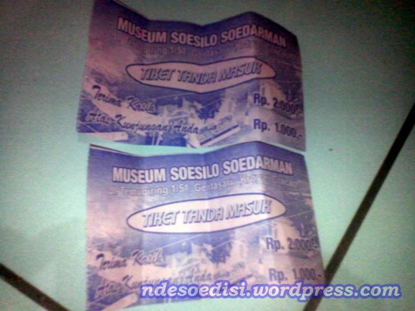 Mengunjungi Museum Soesilo Soedarman Ndesoedisi Tiket Masuk Susilo Kab Cilacap
