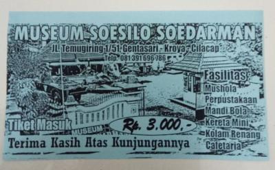 Museum Soesilo Soedarman Zyena Transindo Nama Susilo Kab Cilacap