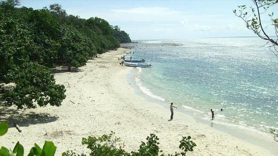 10 Pantai Terindah Cilacap Destinasi Menarik Wisata Singkil Karang Pakis