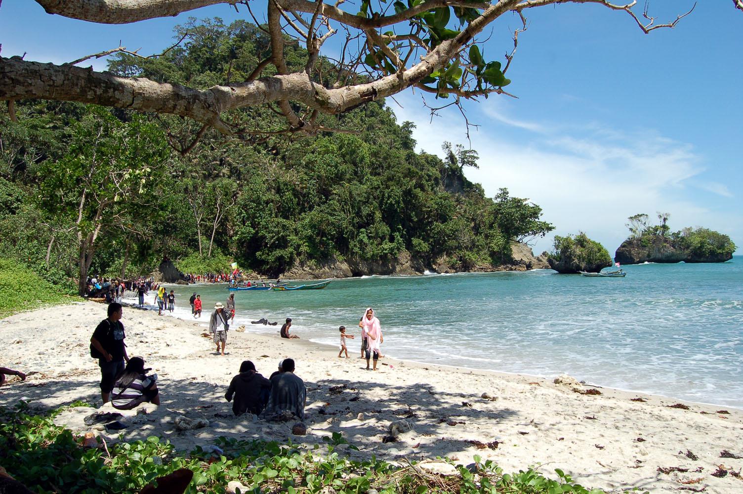 Cinta Cilacap Wisata Pantai Ketapang Indah Kab