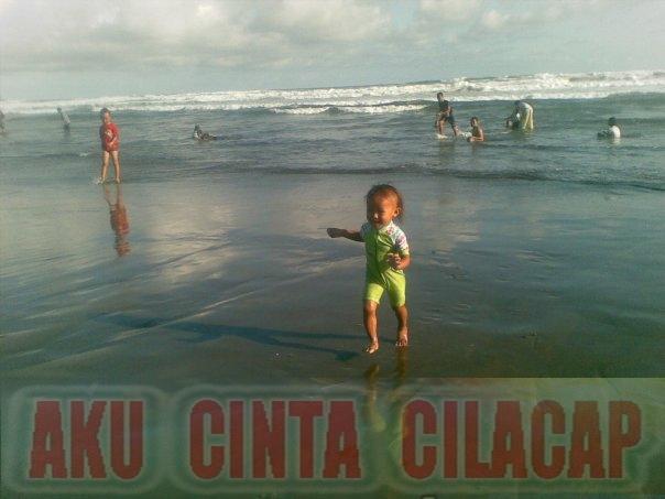 Cinta Cilacap Wisata Tempat Pantai Indah Singkil Berada Desa Karangpakis