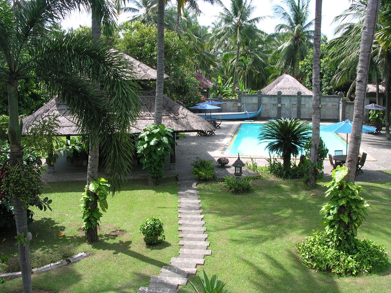 Ketapang Indah Hotel Banyuwangi East Java Villa Swimming Pool Pantai