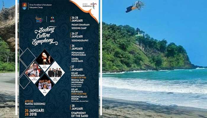 Meriahkan Sodong Culture Symphony 2018 Pantai Cilacap Ketapang Indah Kab