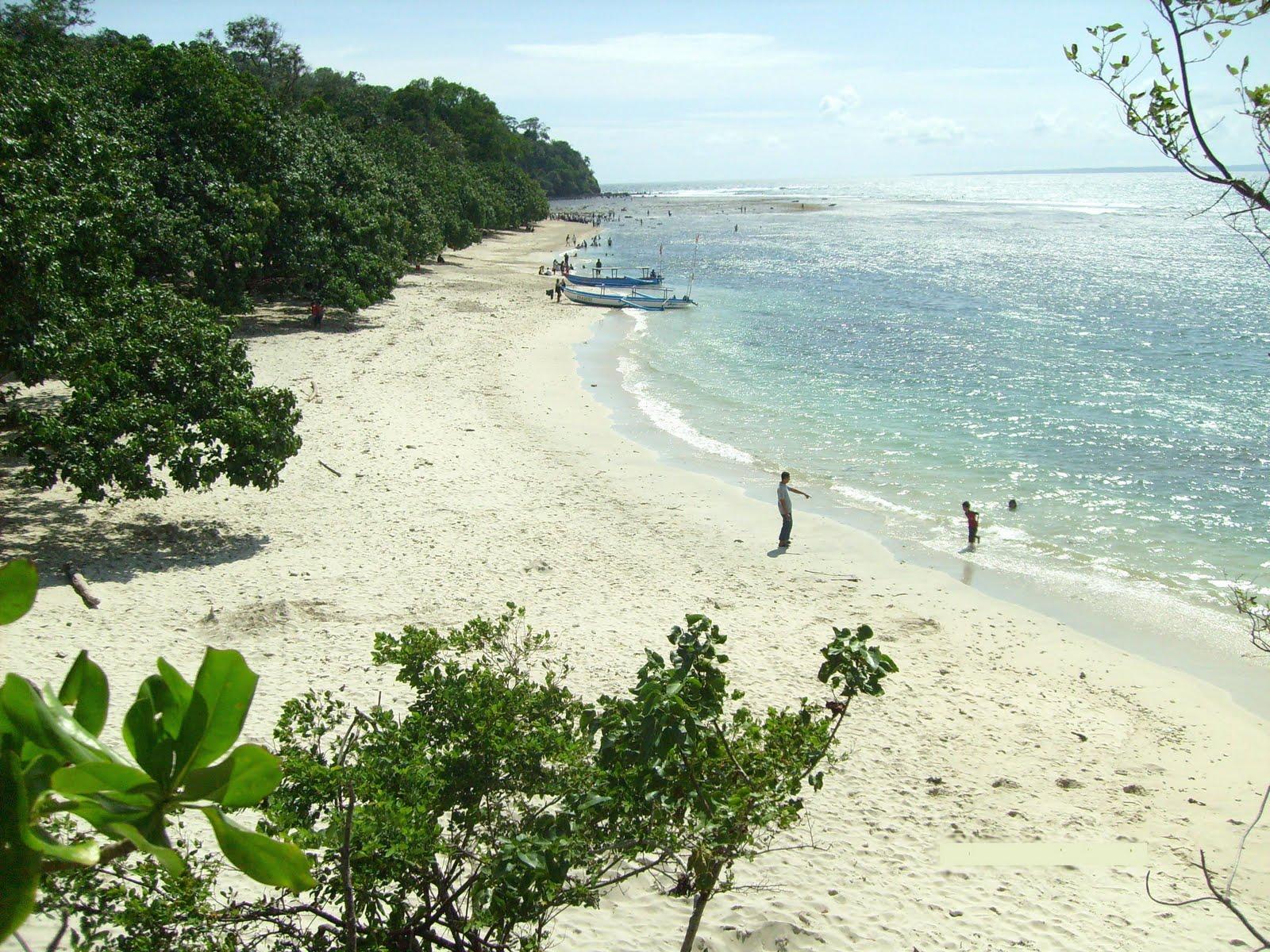 Objek Wisata Cilacap Srimuktiasih Pantai Ketapang Indah Kab