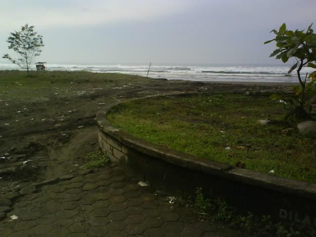 Wisata Cilacap Pintu Masuk Dampo Awang Beach Pantai Ketapang Indah