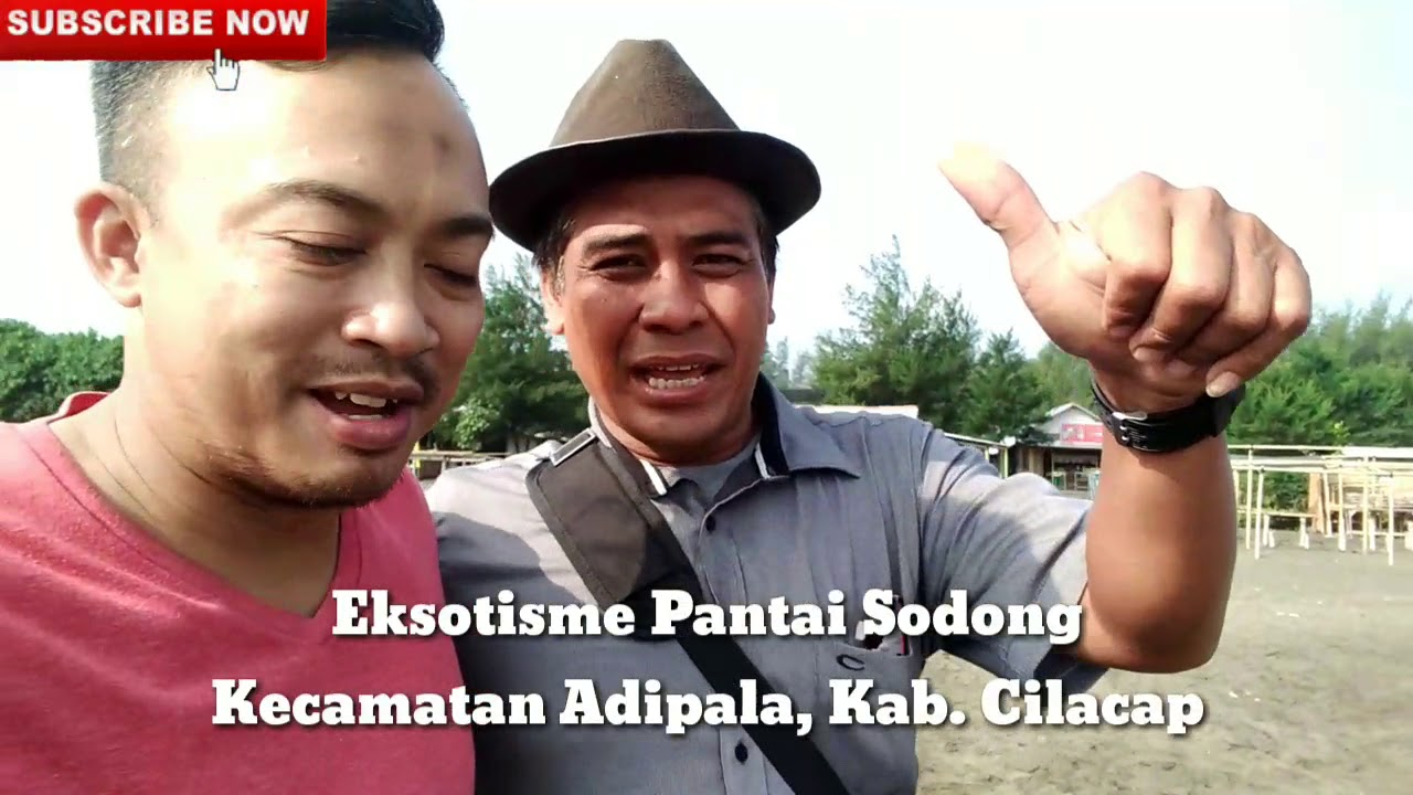 Eksotisme Pantai Sodong Cilacap Youtube Kab
