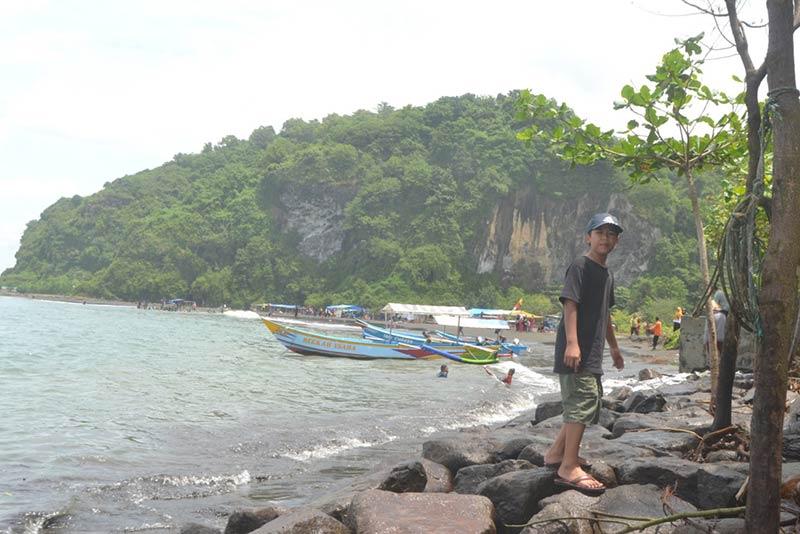 Minim Perhatian Wisata Sodong Cilacap Berbenah Radar Banyumas Pantai Kab