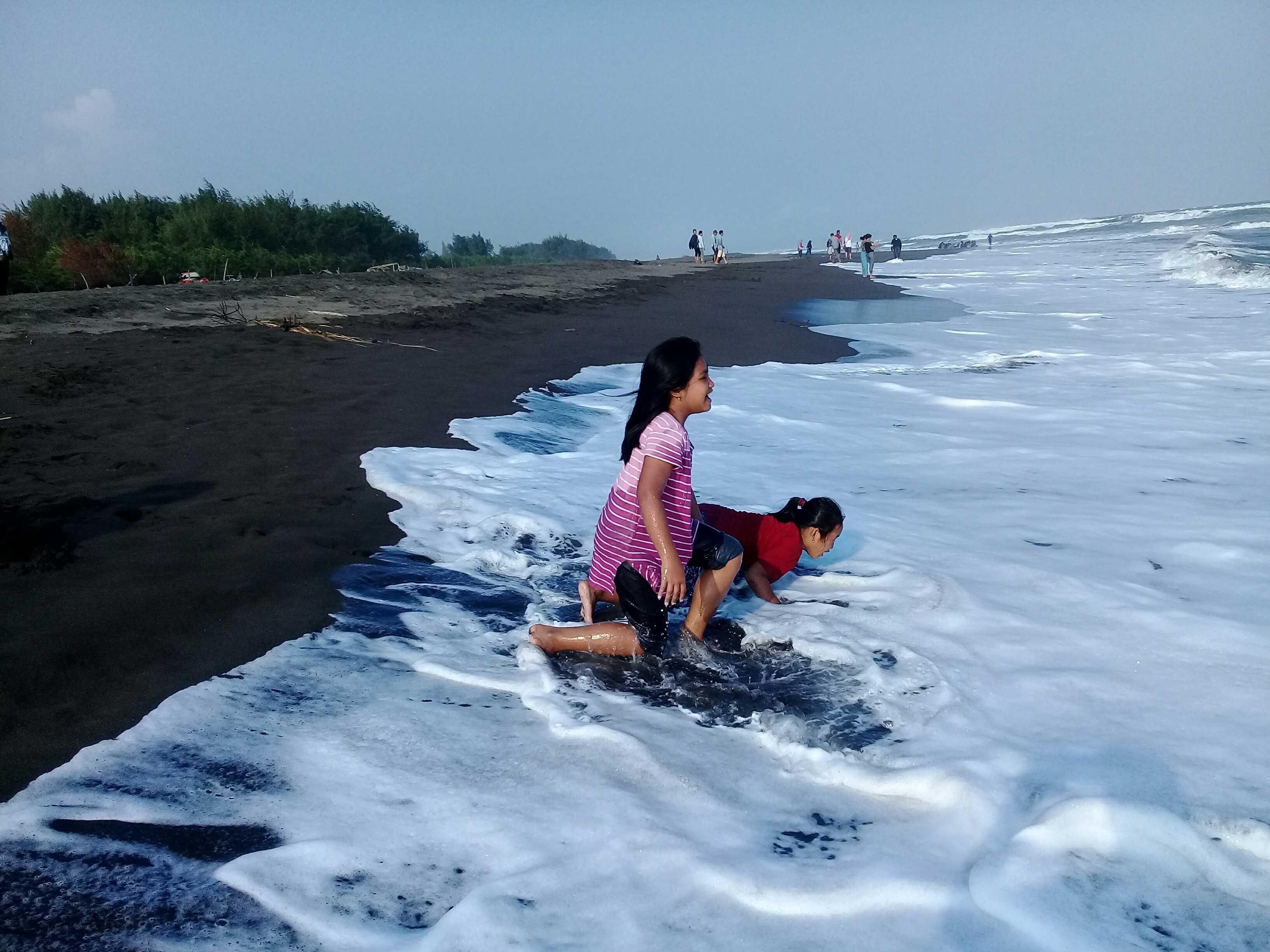 Pantai Sodong Cilacap Steemkr Kabupaten Jawa Tengah Natural Bersih Kab