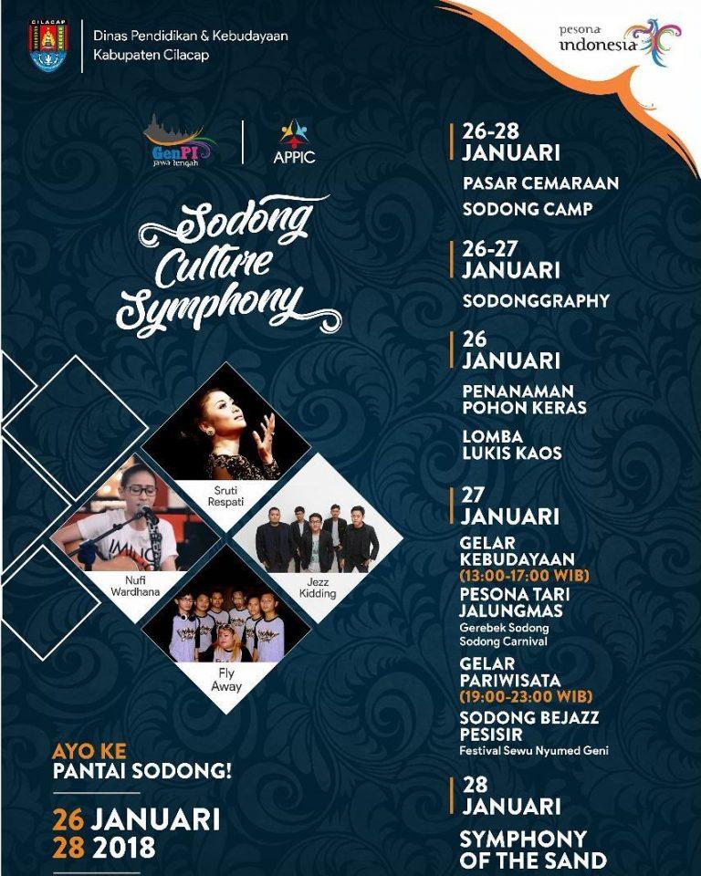 Ramaikan Gelaran Sodong Culture Symphony 2018 Cilacap Bello Id Buat
