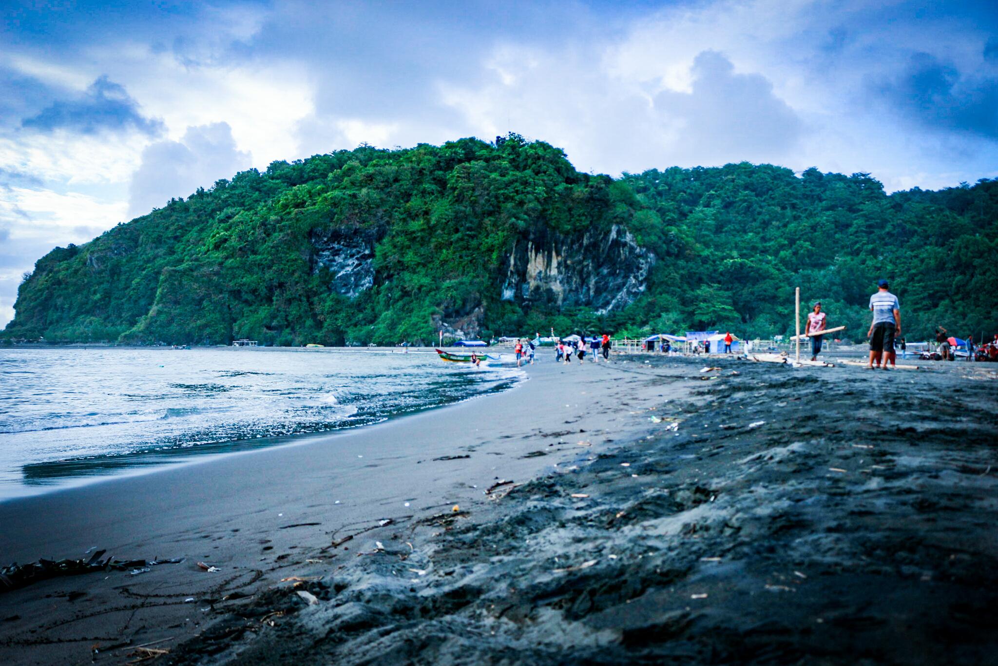 Senja Pantai Sodong Samz Beltriverson Image Kab Cilacap