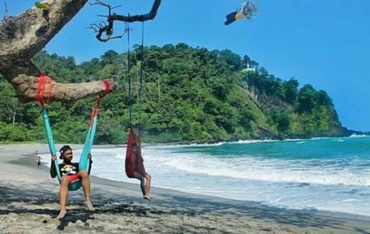 Tempat Wisata Pantai Sodong Cilacap Jawa Tengah Destinasi Alam Kab
